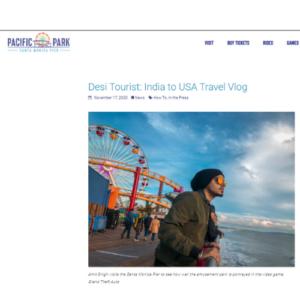 Santa Monica Pier travel article