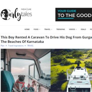 Curly Tales caravan vlog article
